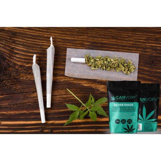 Silver Shaze - 4% CBD Cannabidiol Cannabis aroma incense sticks
